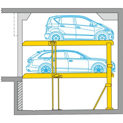 Parcheggio per auto Parklift 440