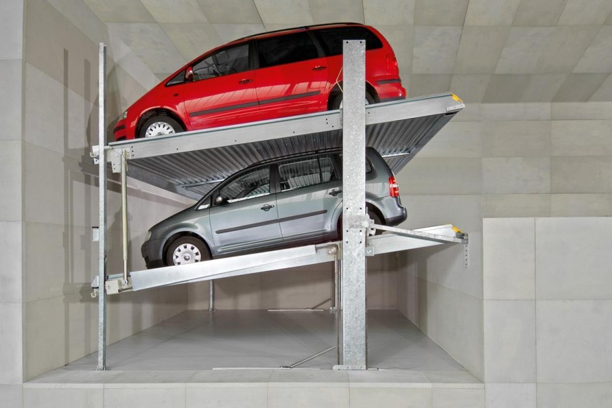 impianto di parcheggio Parklift