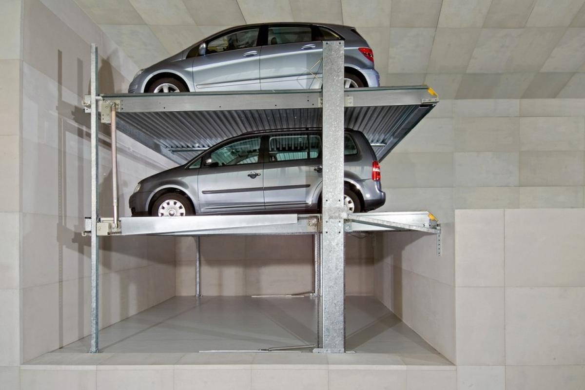 parcheggio meccanizzato con fossa Parklift