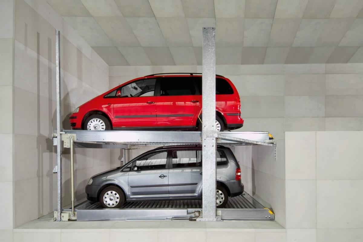 parcheggio meccanico modulare
