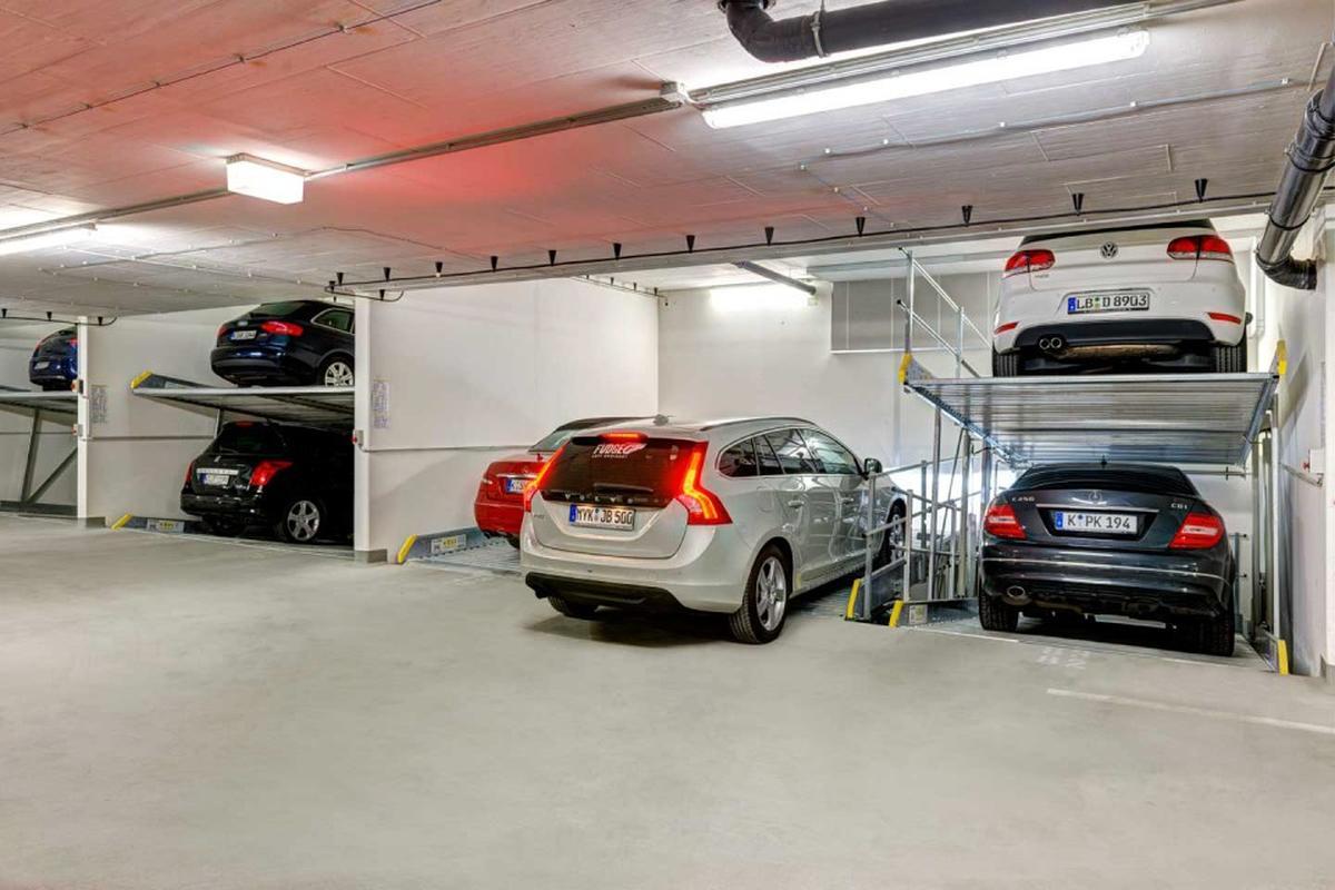 Parcheggio meccanico con fossa Parklift