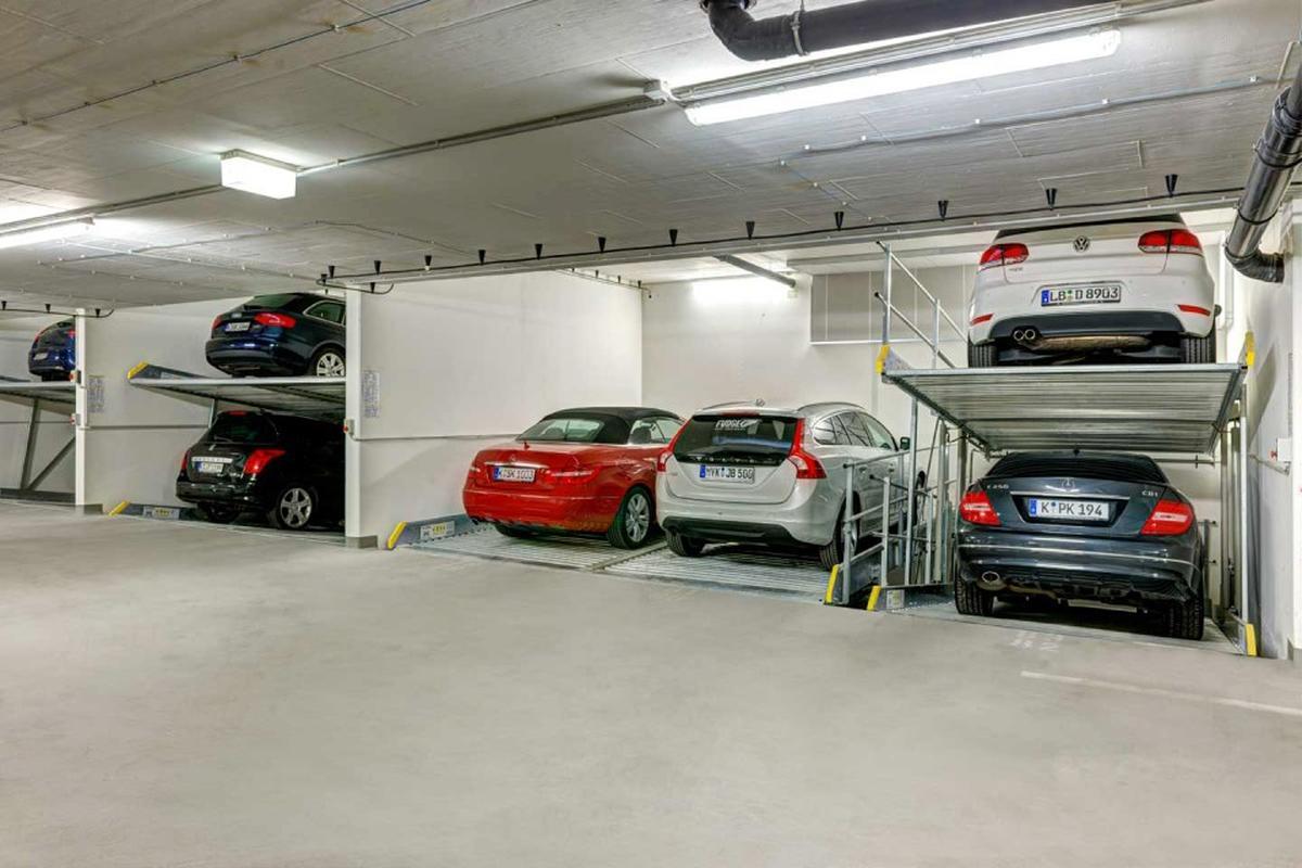 Sistema di parcheggio meccanico