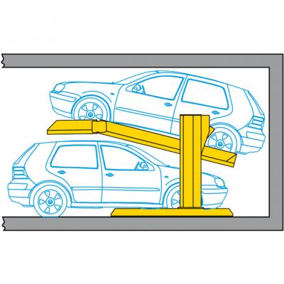 Raddoppiatore di parcheggio Parkbox 401