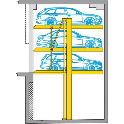 Piattaforma di parcheggio Parklift 413