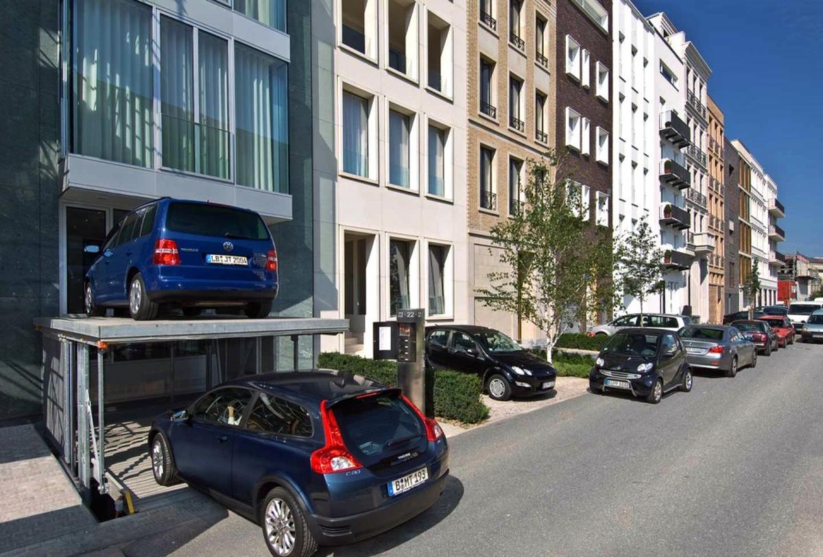 impianto di parcheggio invisibile
