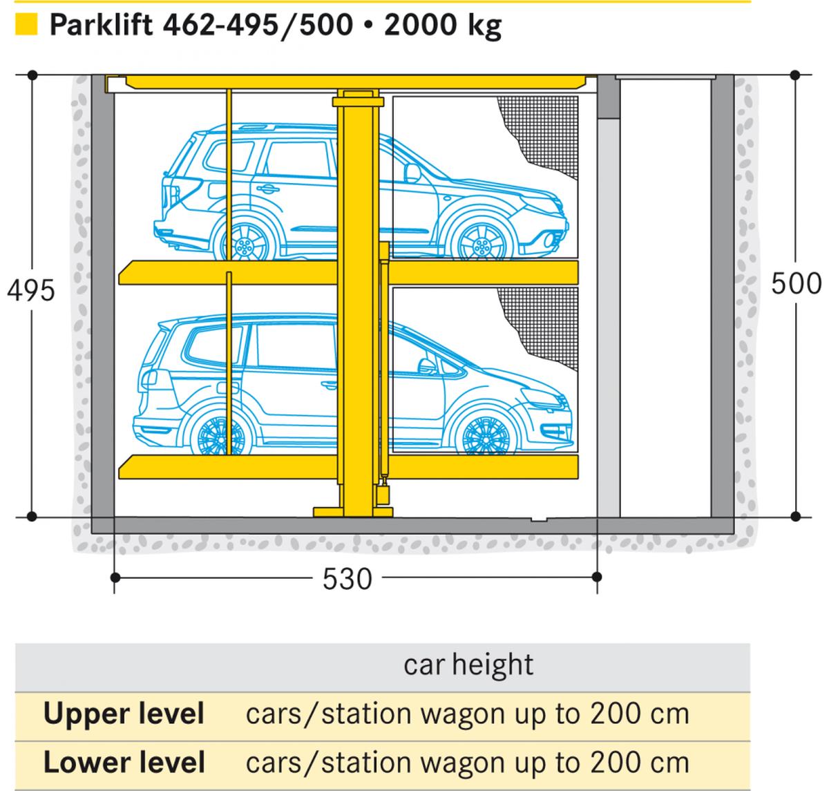 Parcheggi meccanizzati invisibili
