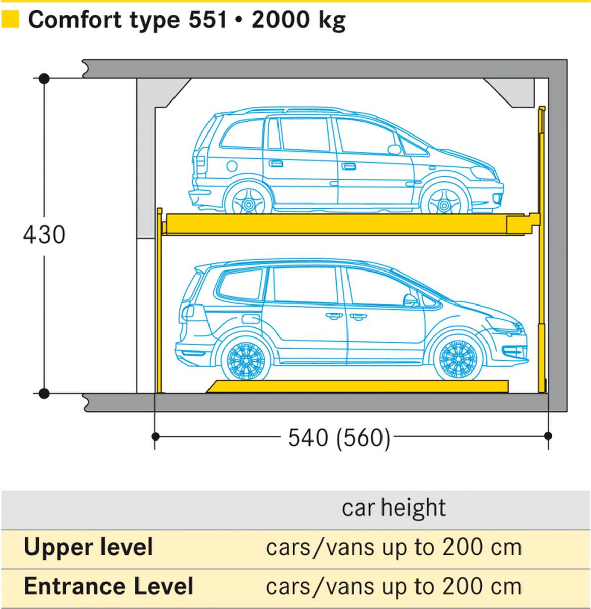 parcheggio meccanizzato Combilift 551