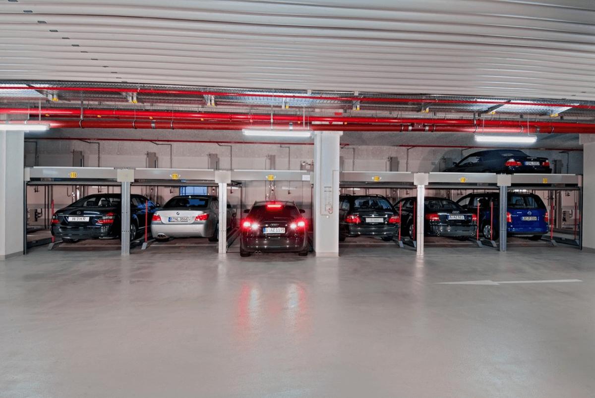 parcheggio meccanico Combilift 551