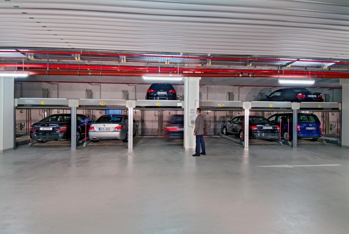 parcheggi meccanici Combilift