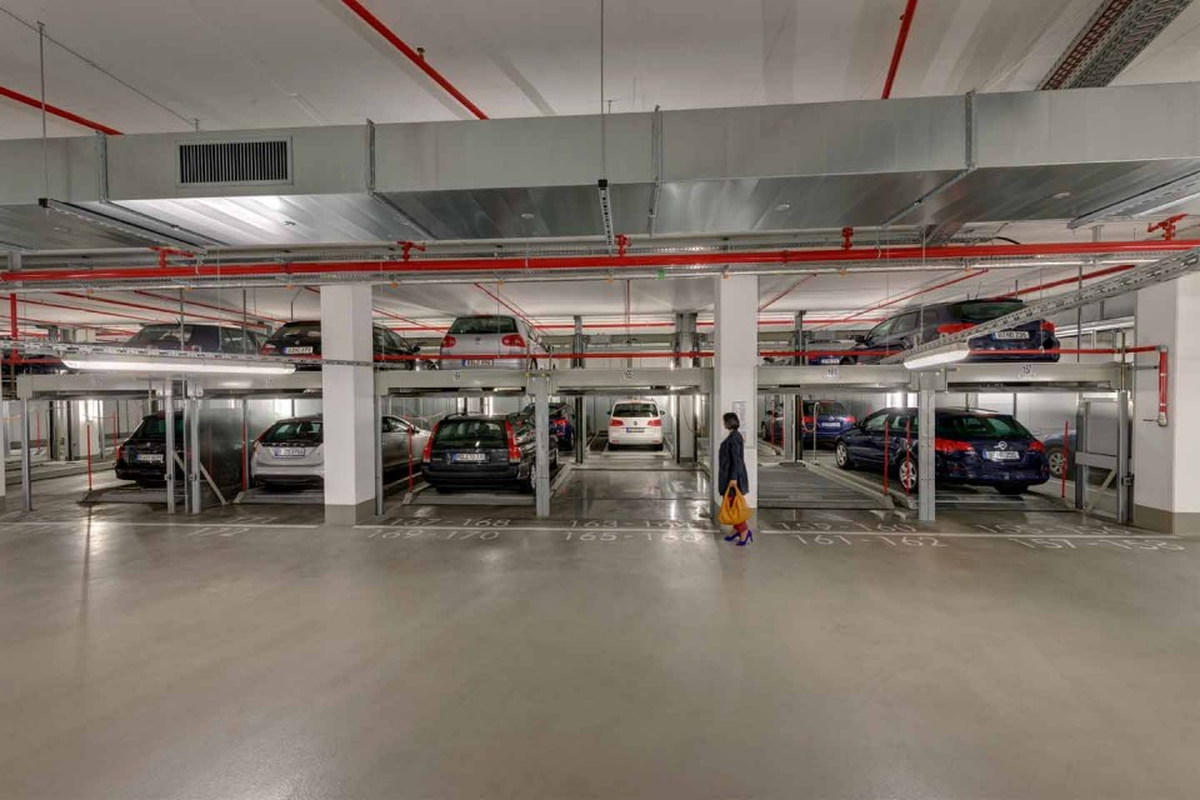 impianto di parcheggio meccanico Combilift 552