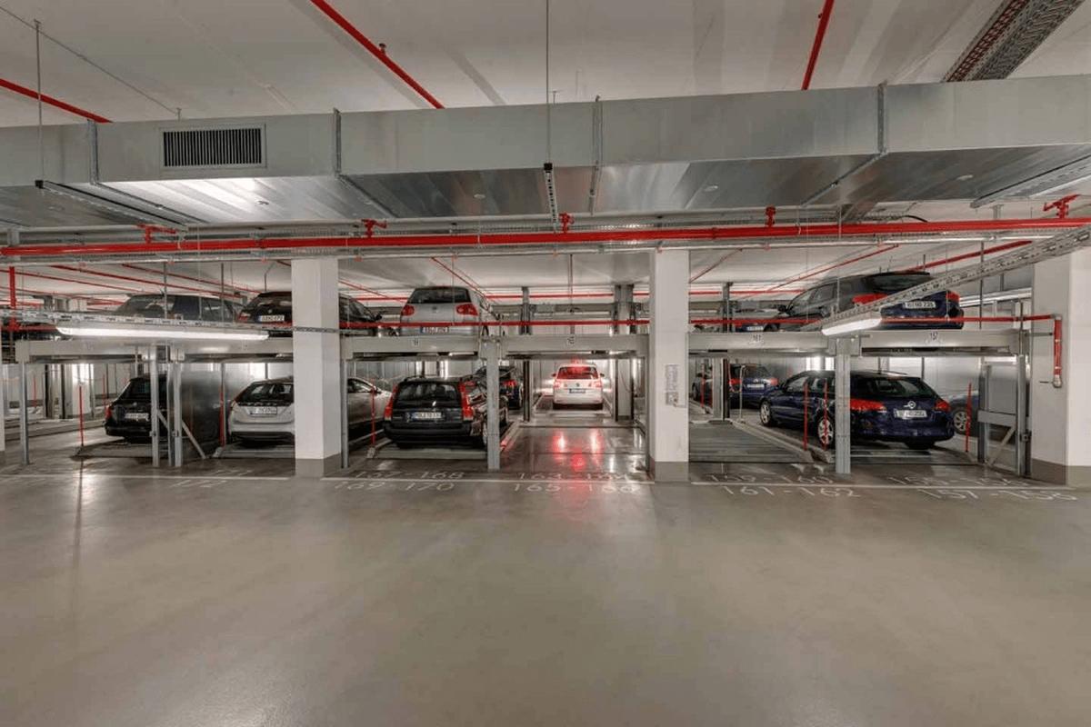 sistema di parcheggio meccanizzato Combilift 552