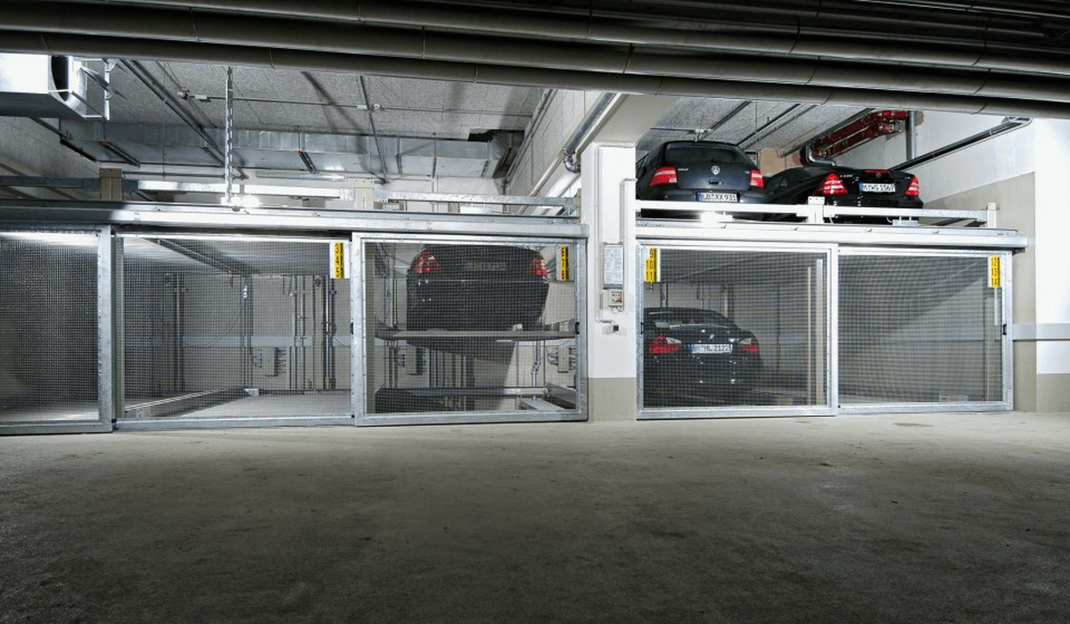 parcheggio meccanizzato Combilift 543