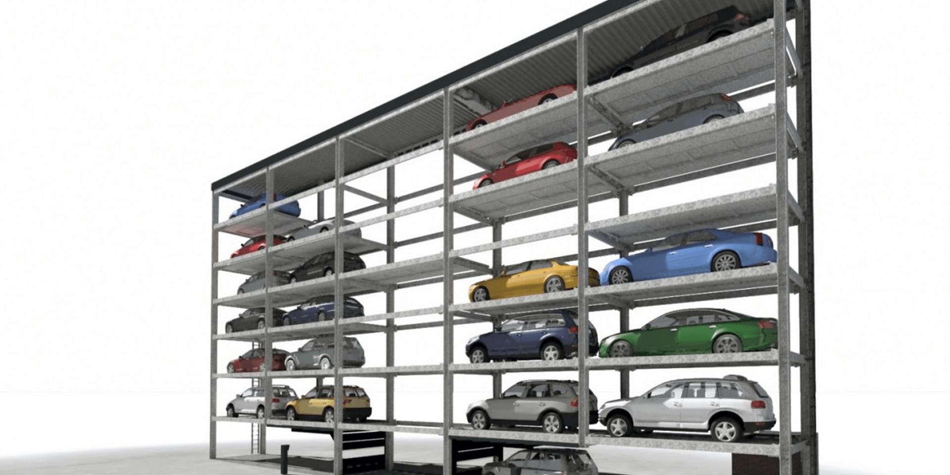 Slimparker 557 - parcheggio automatizzato