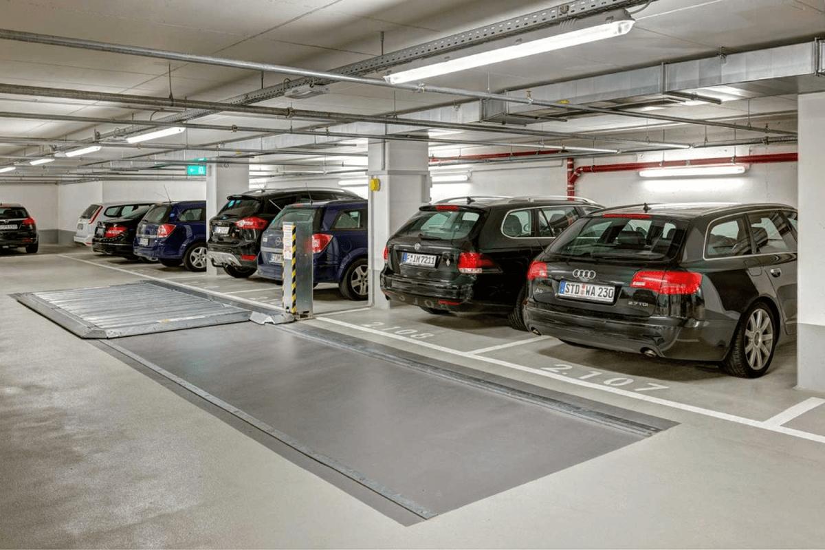 piattaforma di parcheggio