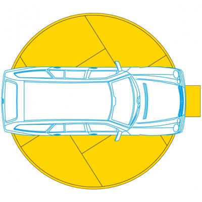 Piattaforme di parcheggio rotante 505