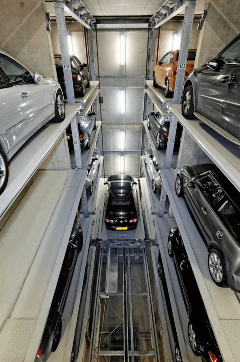 parcheggio automatizzato Parksafe 580
