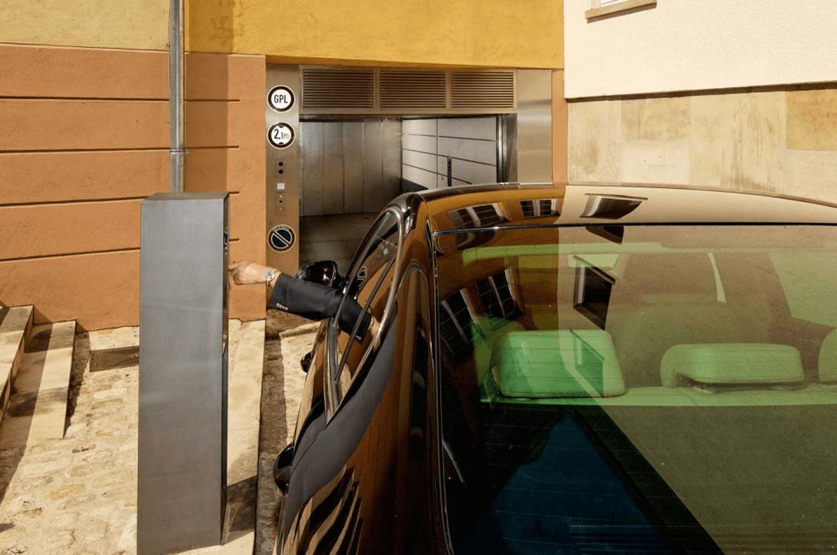 sistema di parcheggio Parksafe 580