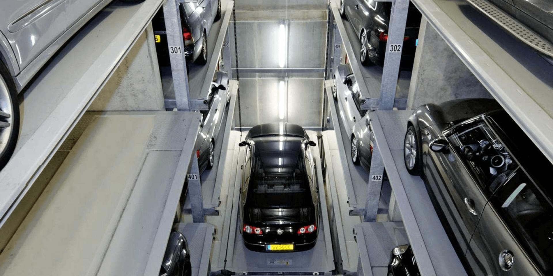 Parksafe 582 - sistema di parcheggio automatico