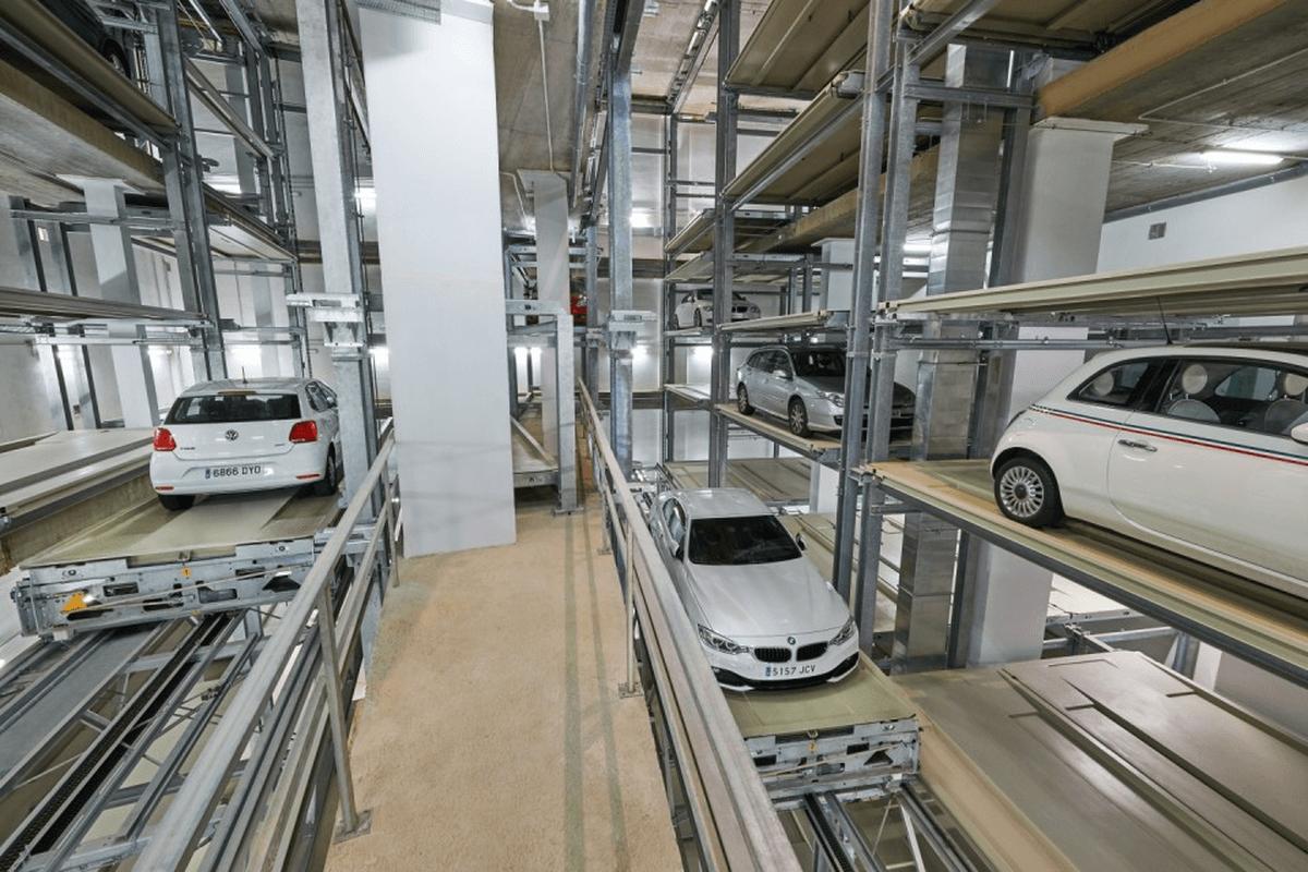 parcheggio automatizzato IdealPark Parksafe 583