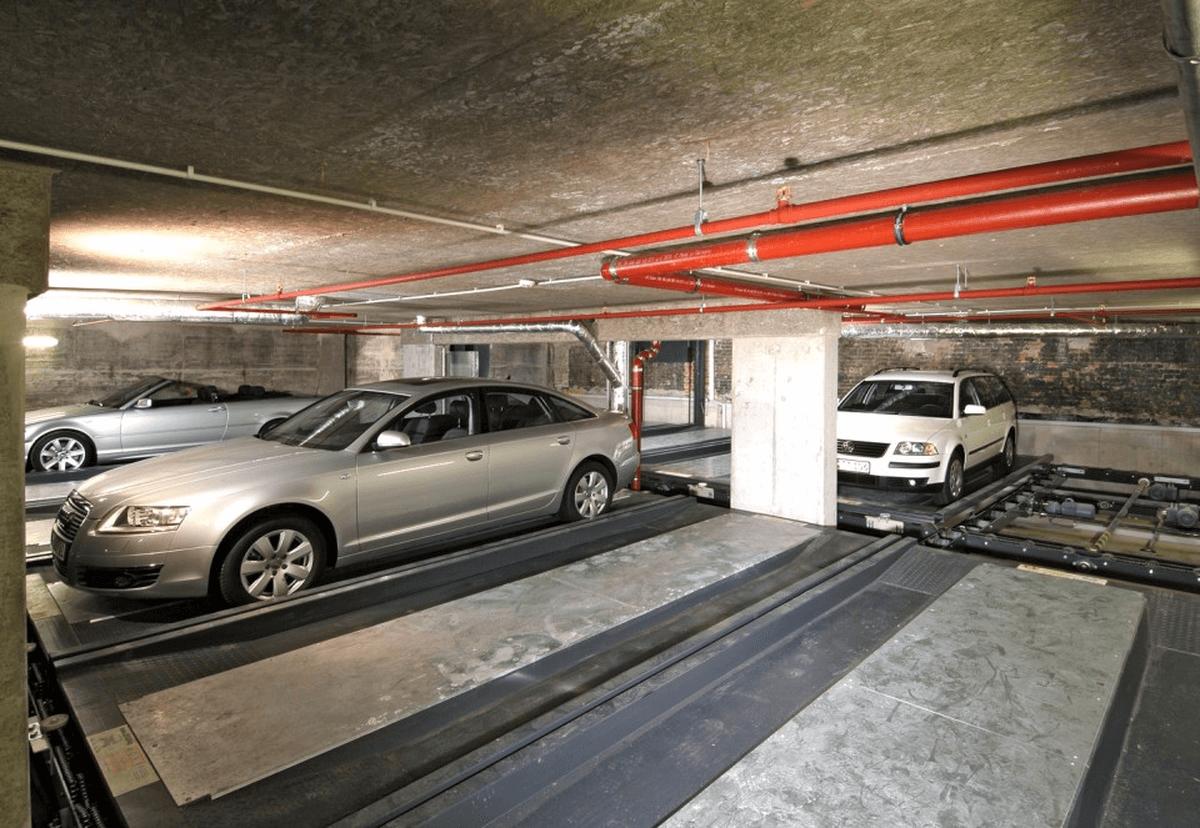 parcheggio automatico Levelparker 570