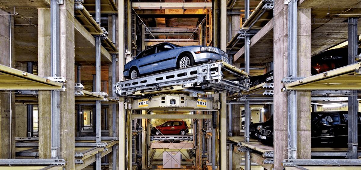 parcheggio automatico Multiparker 710