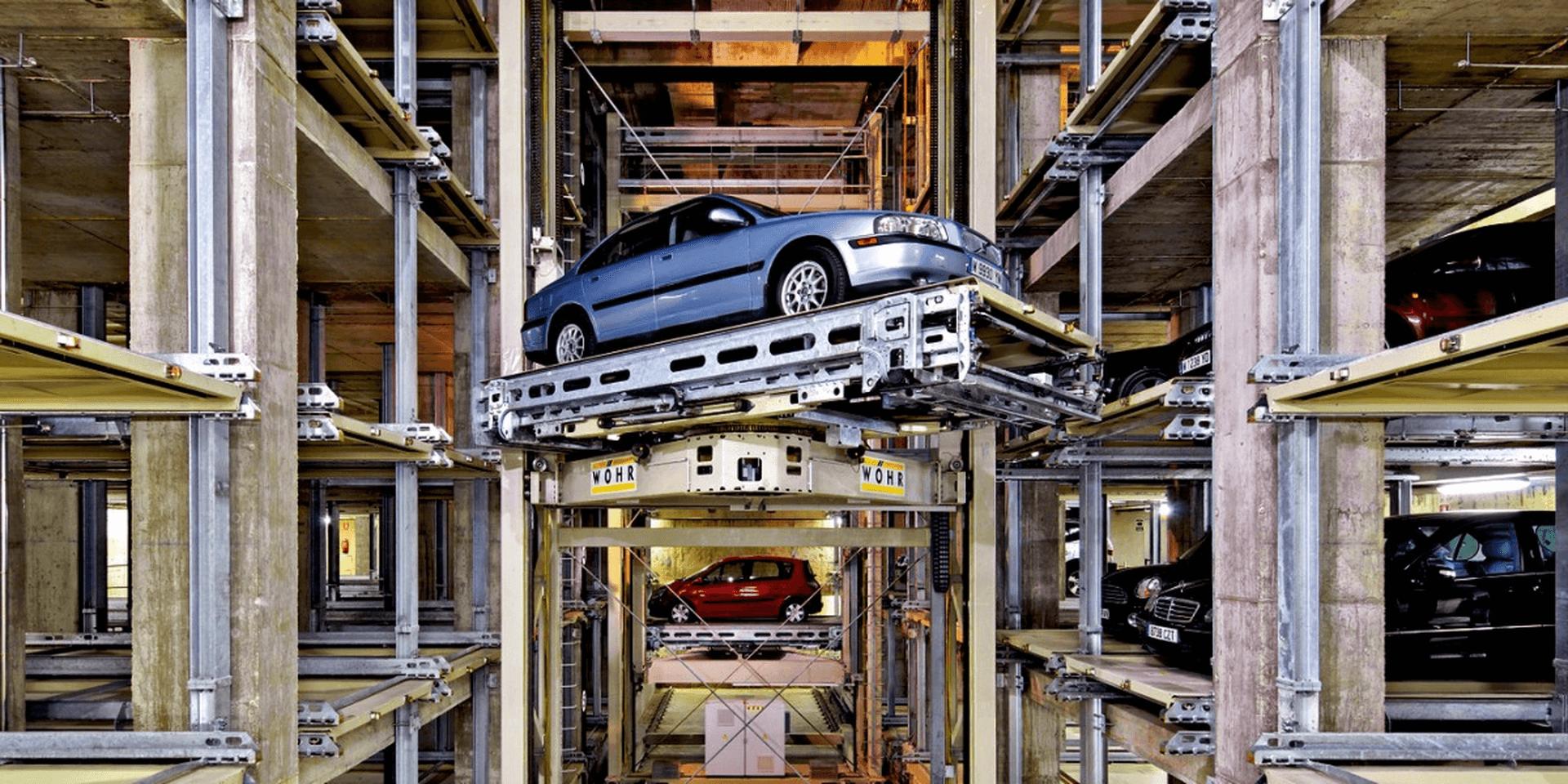 Multiparker 710 - Sistema di parcheggio auto automatizzato
