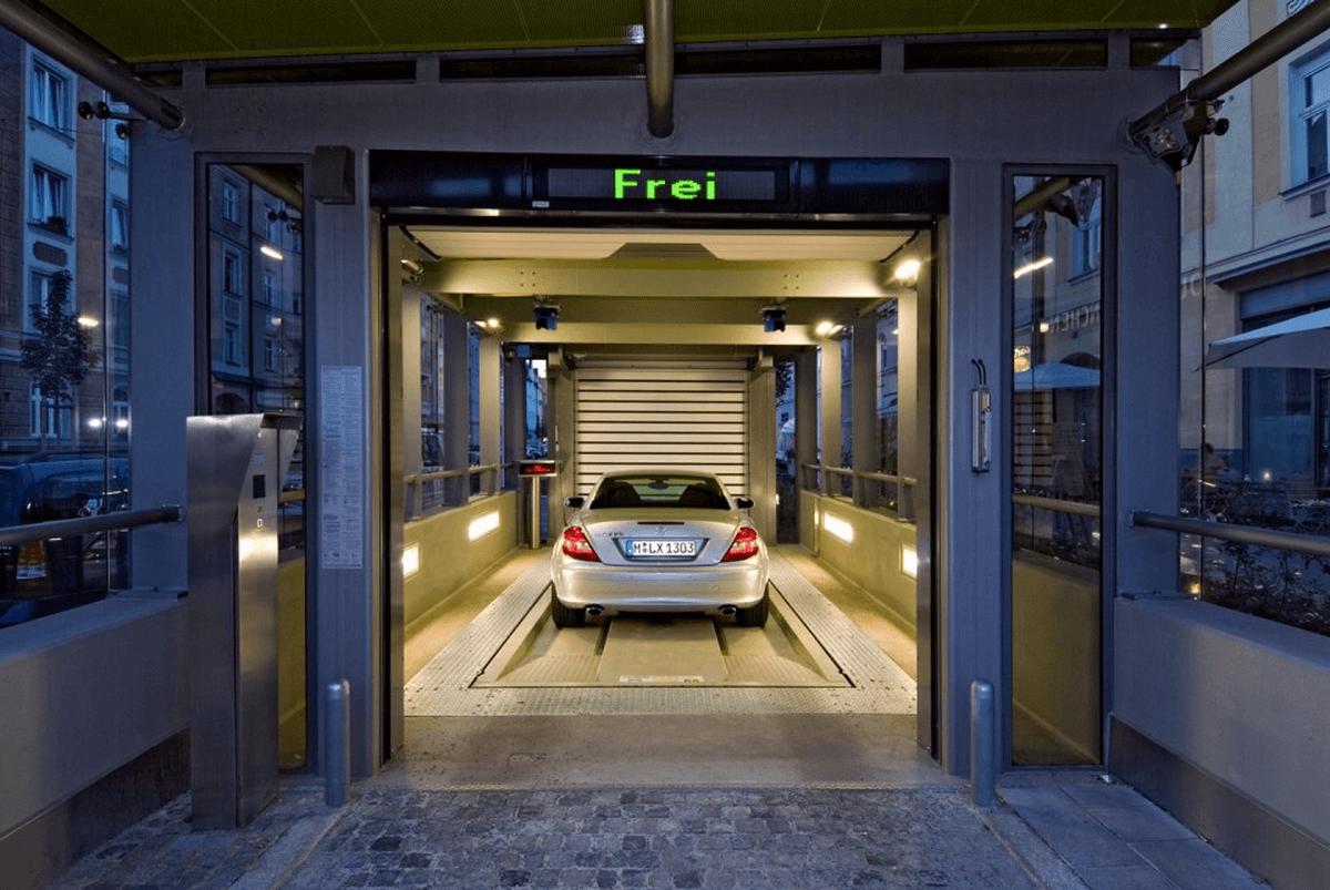 parcheggio automatizzato Multiparker 740