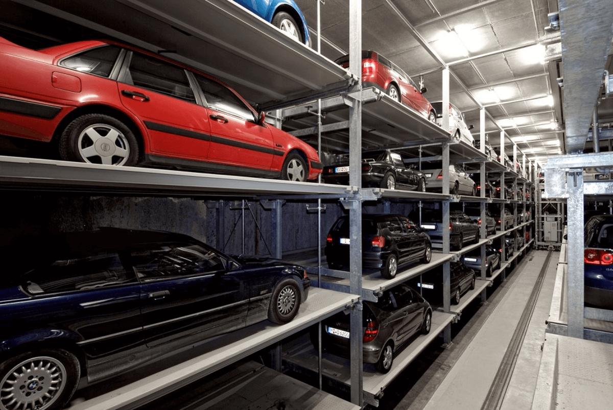 parcheggio automatico Multiparker 740