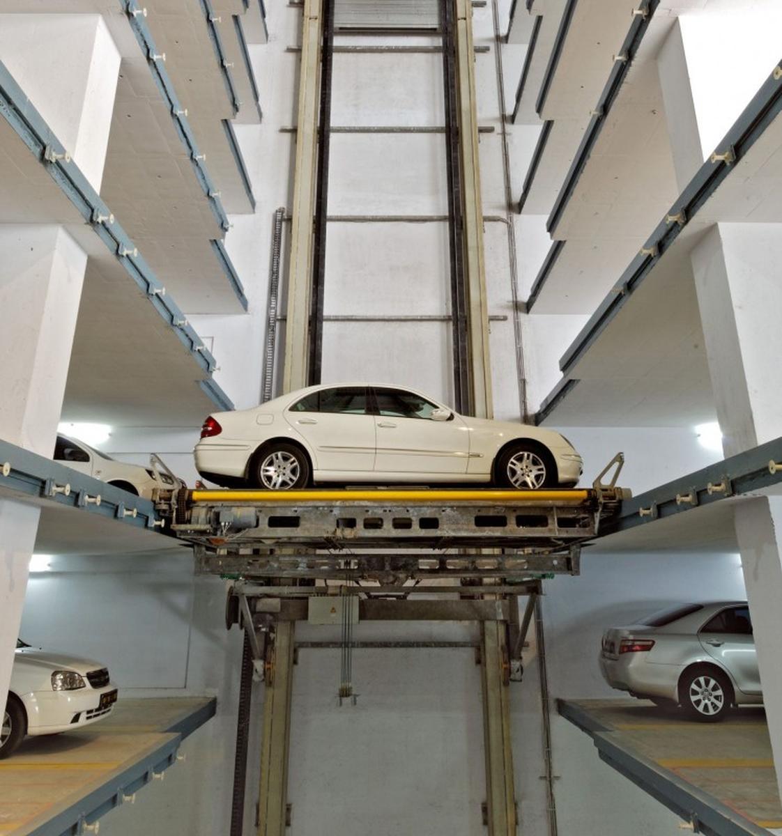 parcheggio automatico Multiparker 750