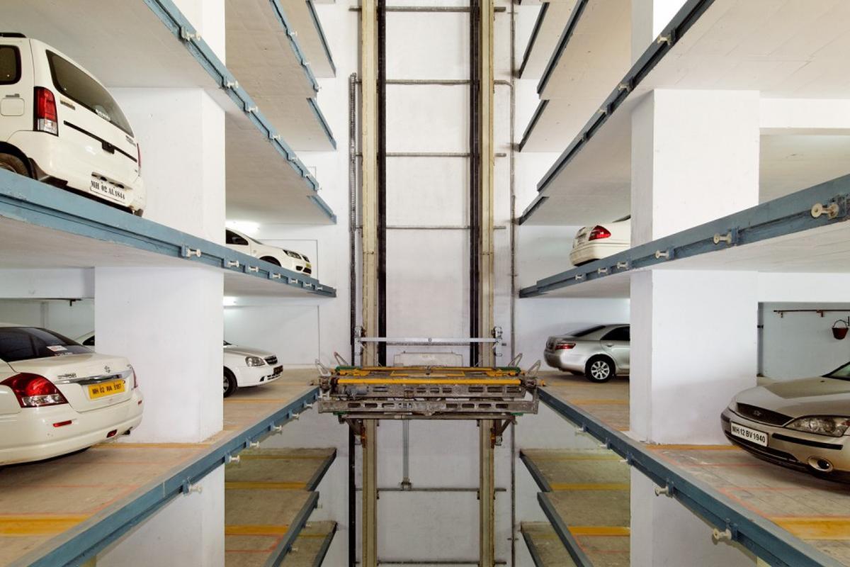 parcheggio automatizzato Multiparker 750