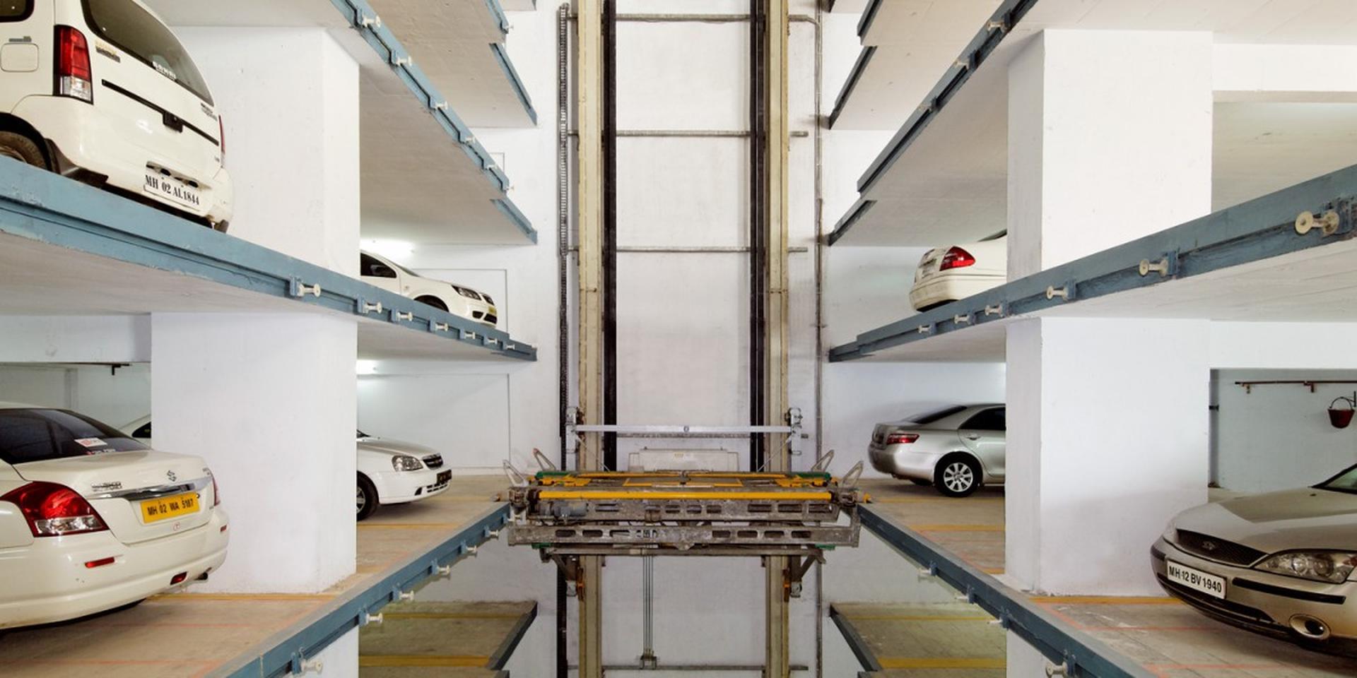 Multiparker 750 - 760 - Sistema di parcheggio auto automatizzato in struttura