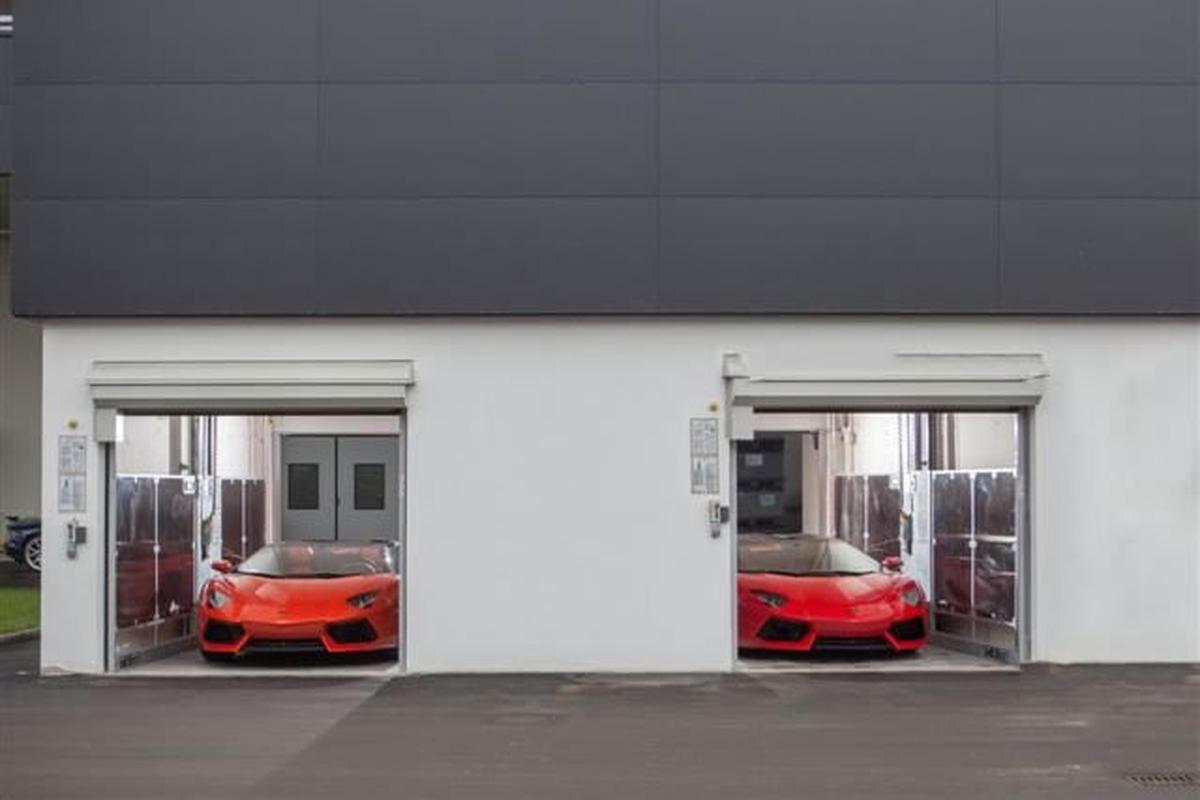 ascensori per auto Lamborghini