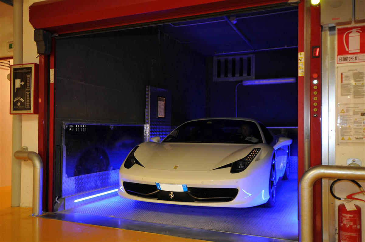 ascensore auto con tecnologia KERS