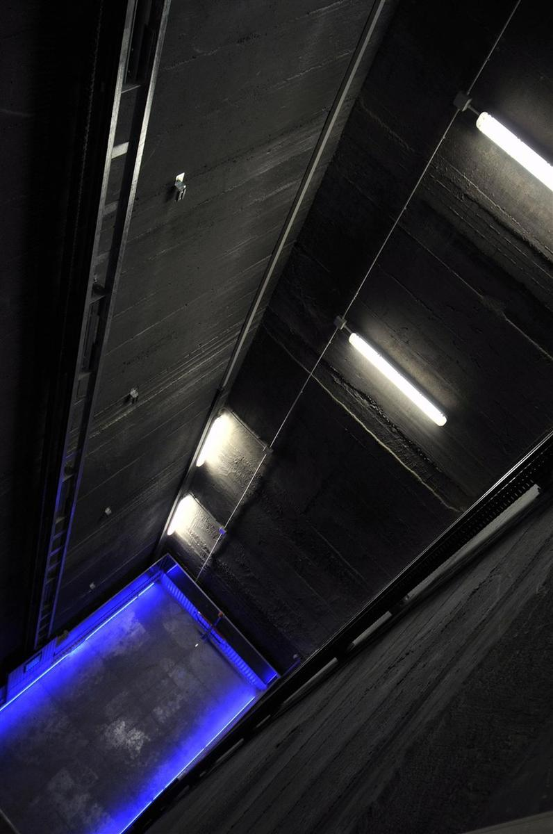 vano ascensore elettrico