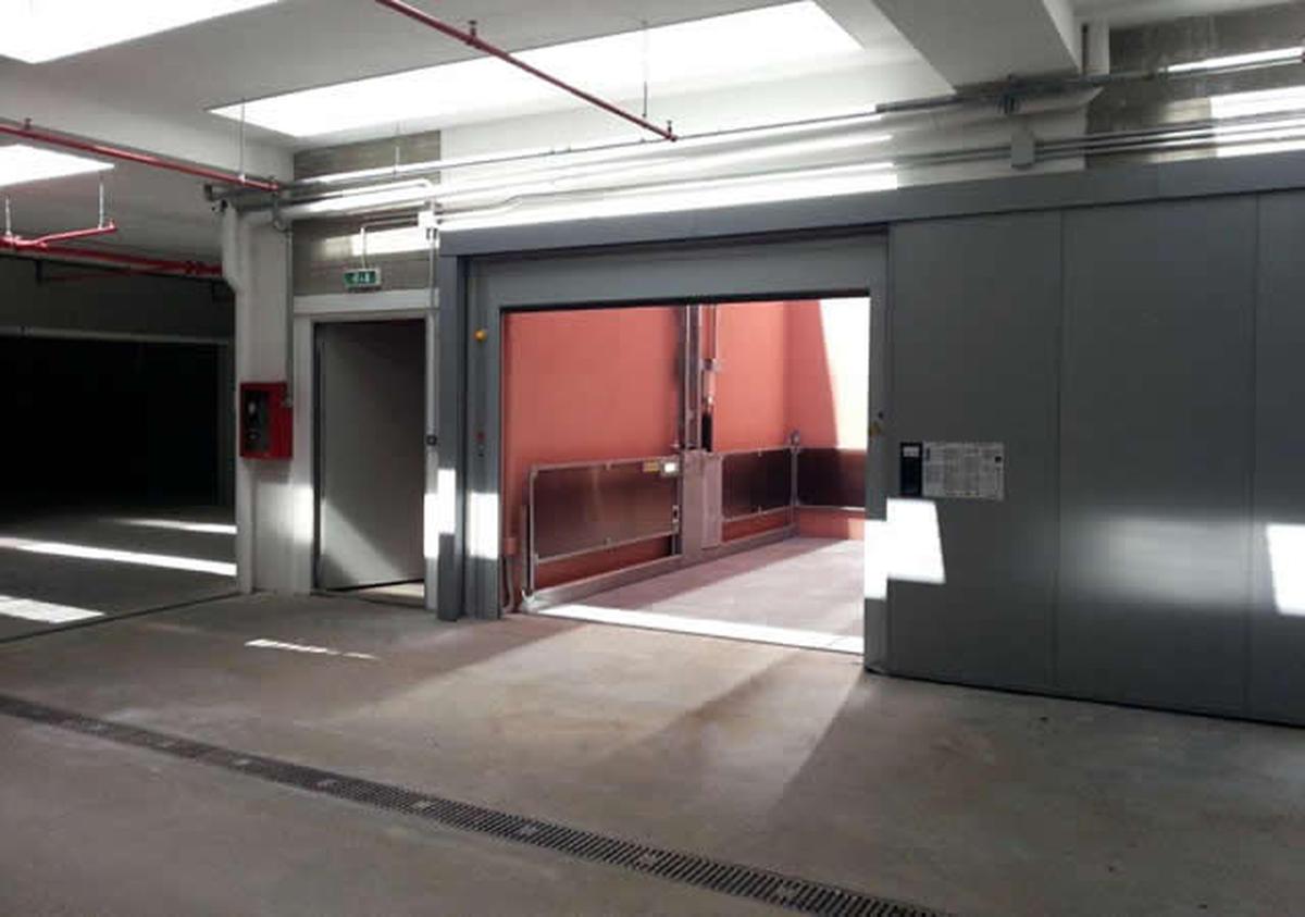 ascensore per auto idealpark