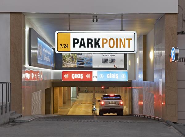 Istanbul capitale del parcheggio design