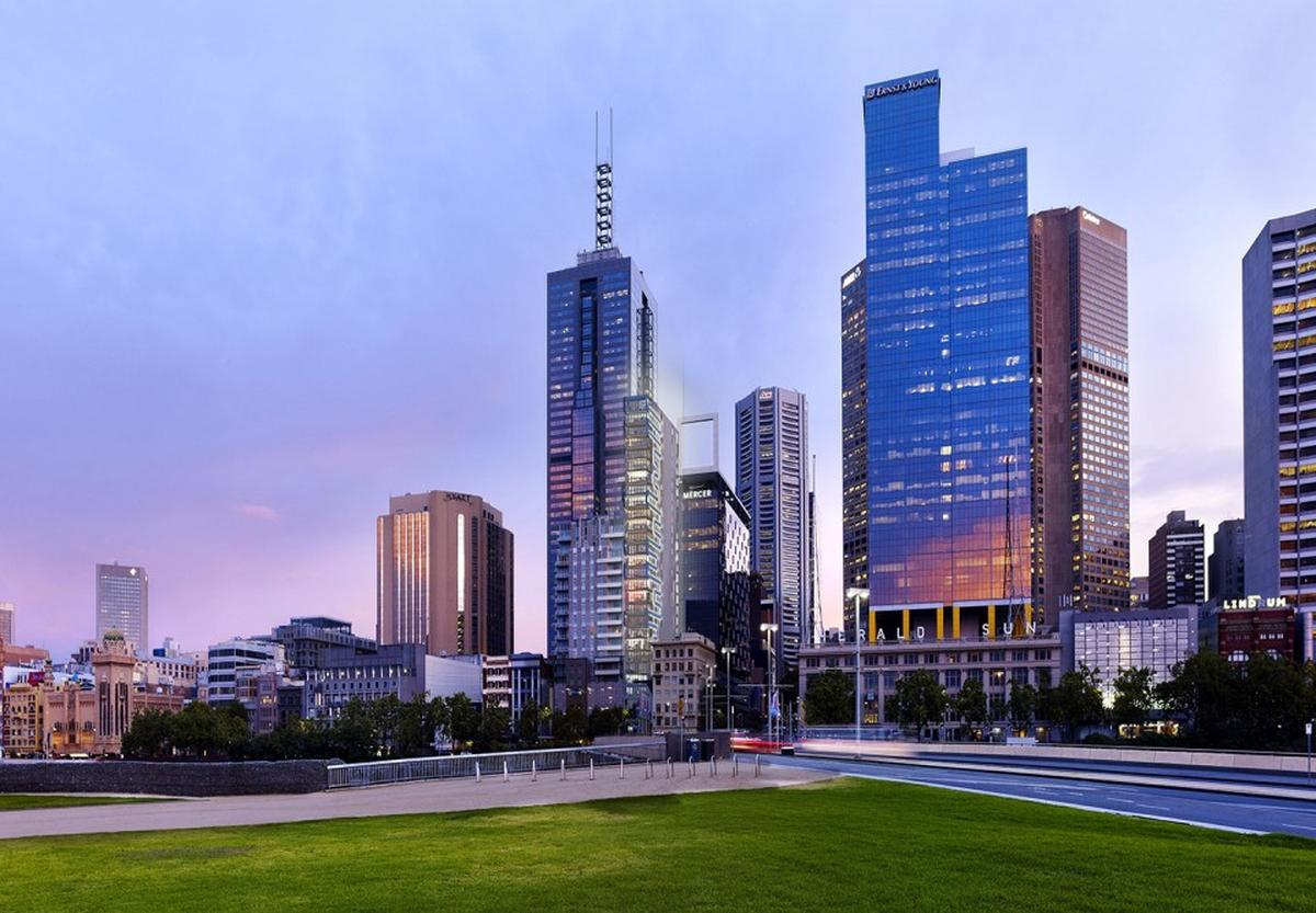 26 posti auto automatizzati realizzati alla Phoenix Tower di Melbourne, Australia