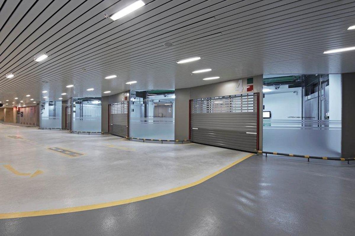 impianto di parcheggio automatizzato Parksafe 580