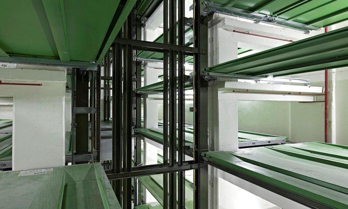 impianto di parchegigo automatico Parksafe 580