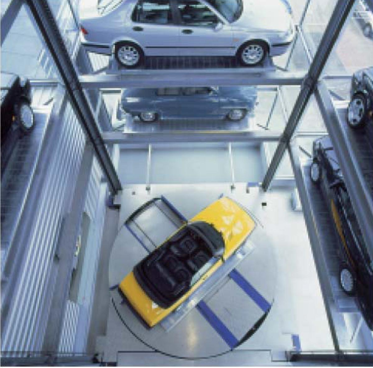 parcheggio automatico Parksafe 585