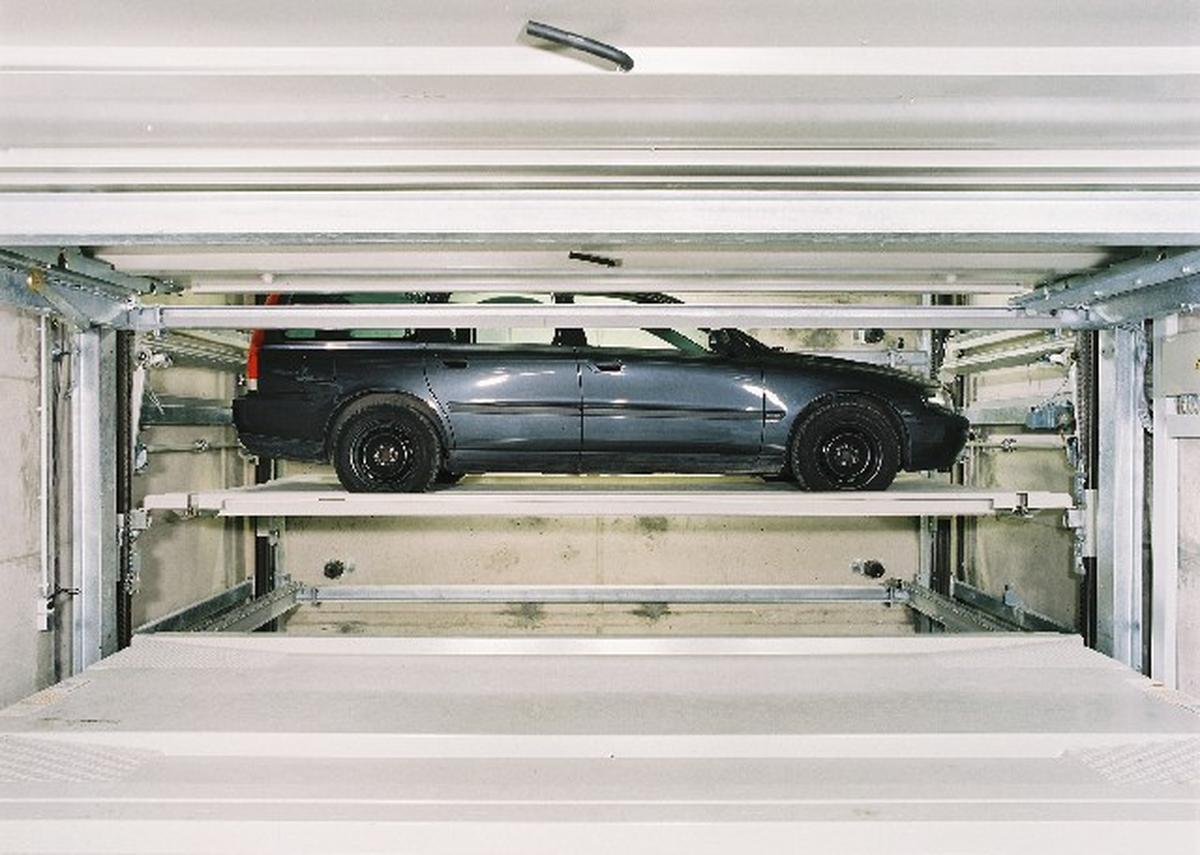 parcheggio automatizzato Levelparker 590