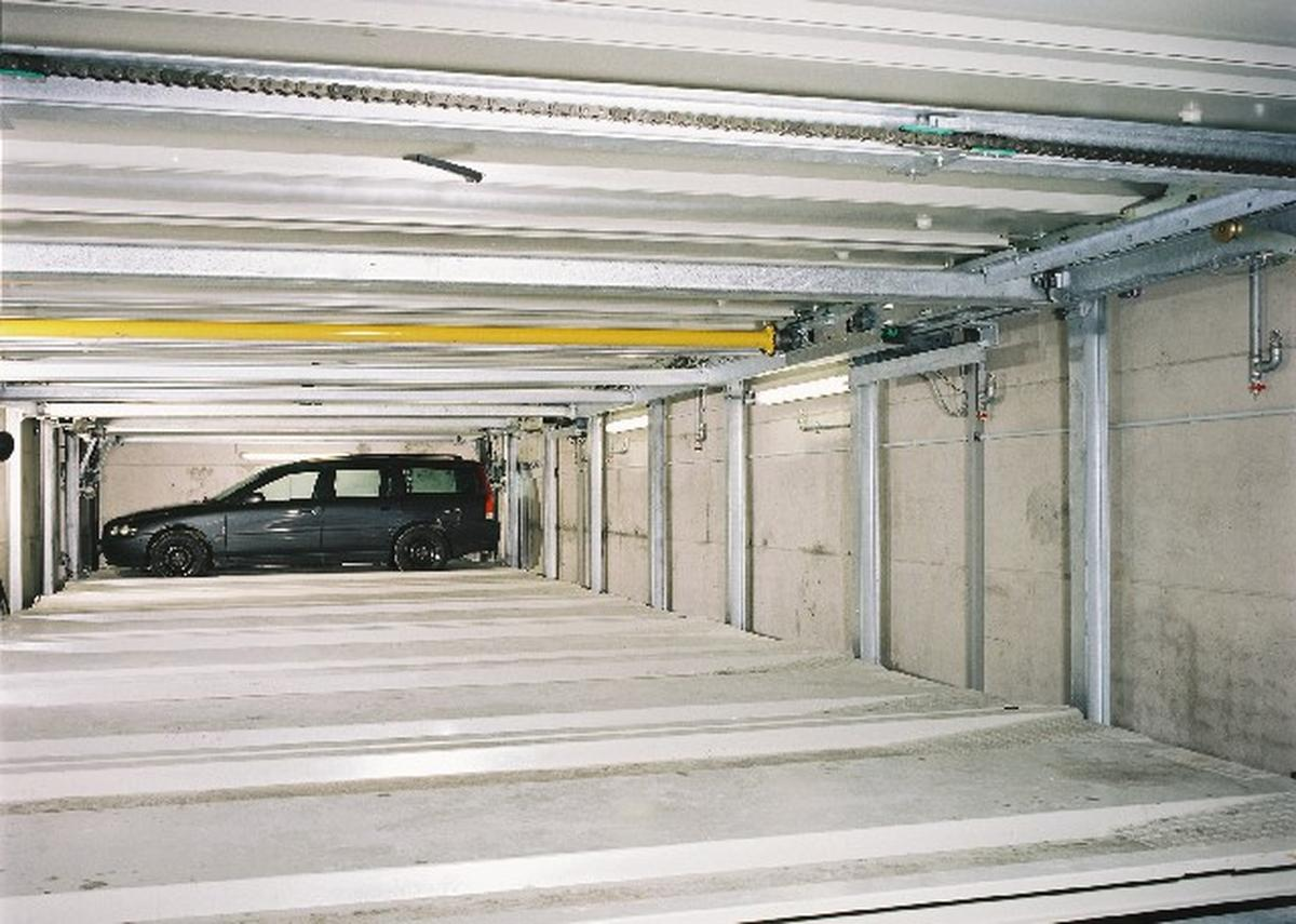 Levelparker 590 parcheggio automatizzato