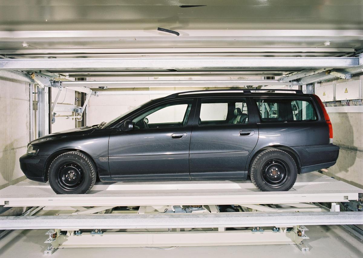 Levelparker 590 parcheggio automatico