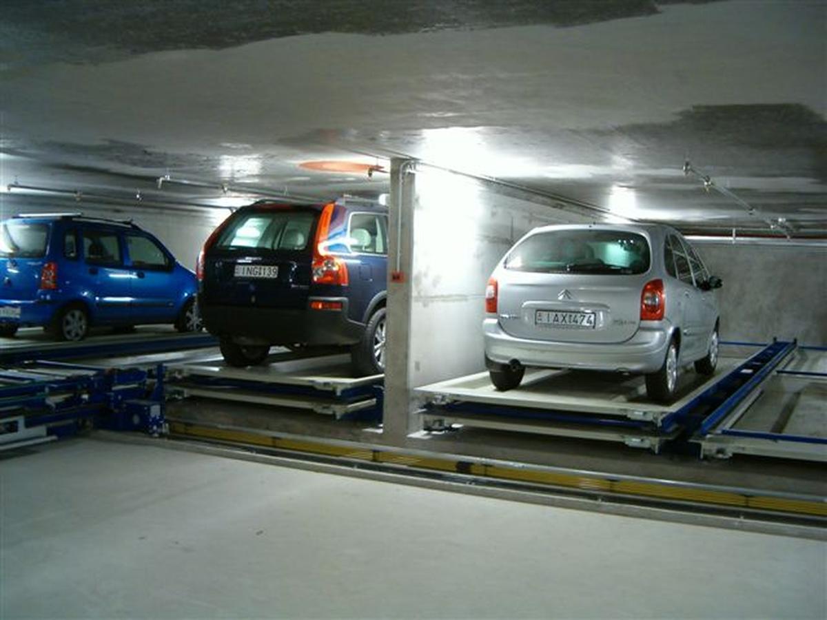 impianto di parcheggio automatico Multiparker 730