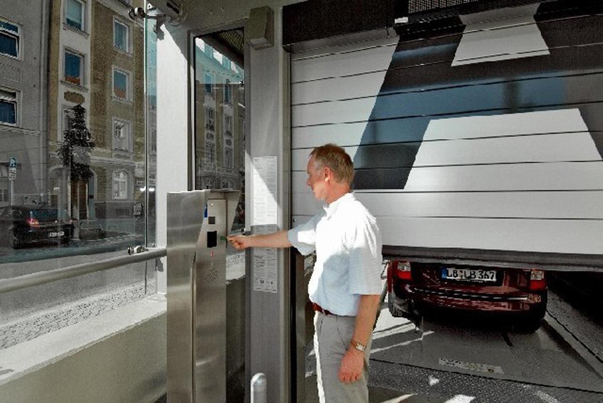 Multiparker 740 parcheggio IdealPark