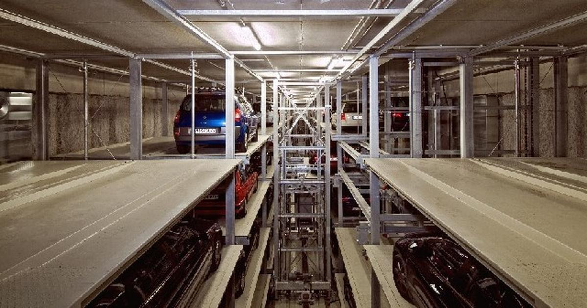 Multiparker 740 sistema di parcheggio automatico