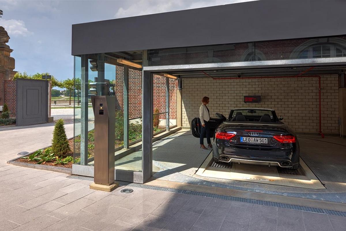 Multiparker 740 parcheggio automatizzato
