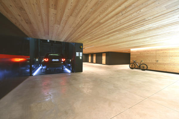 Design parking. Linguaggi architettonici particolari che curano ogni dettaglio dell'abitazione