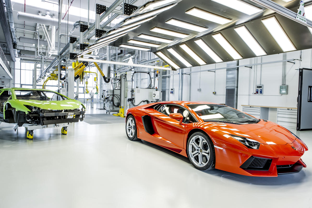 IdealPark e Lamborghini