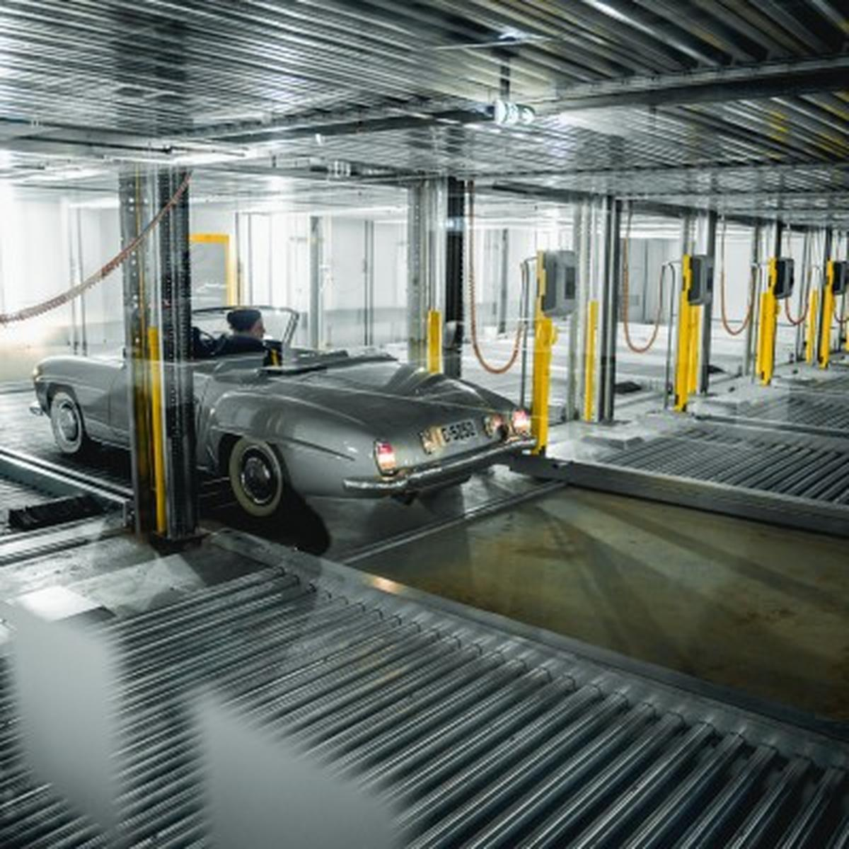 parcheggi meccanizzati per raddoppiare e triplicare i posti auto